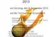 Juxx Doppel Turnier 2013 - SEKTION TENNIS